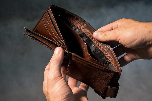 Pagamenti denaro contante
