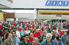 Lavoratori stabilimento Fiat