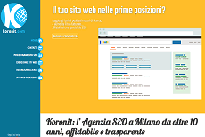 Web agency Milano - Koronit