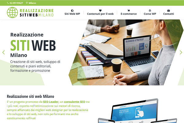 Siti web a Milano