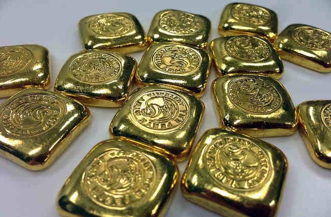 Prezzo e peso lingotti oro